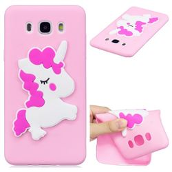 Pony Soft 3D Silicone Case for Samsung Galaxy J7 2016 J710