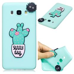Cactus Flower Soft 3D Silicone Case for Samsung Galaxy J7 2016 J710