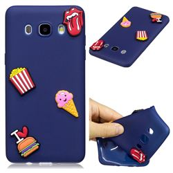 I Love Hamburger Soft 3D Silicone Case for Samsung Galaxy J7 2016 J710