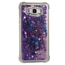 Retro Wind Chimes Dynamic Liquid Glitter Sand Quicksand Star TPU Case for Samsung Galaxy J7 2016 J710