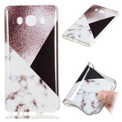 Black white Grey Soft TPU Marble Pattern Phone Case for Samsung Galaxy J7 2016 J710
