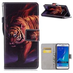 Mighty Tiger PU Leather Wallet Case for Samsung Galaxy J7 2016 J710