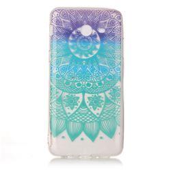 Mandala Wind Chimes Super Clear Soft TPU Back Cover for Samsung Galaxy J7 2017 Halo