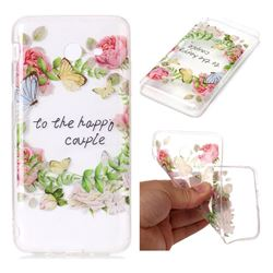 Green Leaf Rose Super Clear Soft TPU Back Cover for Samsung Galaxy J7 2017 Halo US Edition