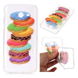Melaleuca Donuts Super Clear Soft TPU Back Cover for Samsung Galaxy J7 2017 Halo US Edition