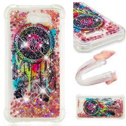 Seal Wind Chimes Dynamic Liquid Glitter Sand Quicksand Star TPU Case for Samsung Galaxy J7 2017 Halo US Edition