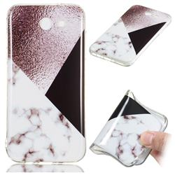 Black white Grey Soft TPU Marble Pattern Phone Case for Samsung Galaxy J7 2017 Halo US Edition