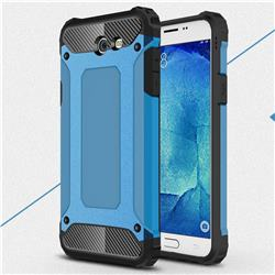 King Kong Armor Premium Shockproof Dual Layer Rugged Hard Cover for Samsung Galaxy J7 2017 Halo US Edition - Sky Blue