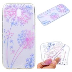 Rainbow Dandelion Super Clear Soft TPU Back Cover for Samsung Galaxy J7 2017 J730 Eurasian