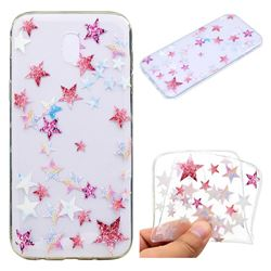 Pentagram Super Clear Soft TPU Back Cover for Samsung Galaxy J7 2017 J730 Eurasian