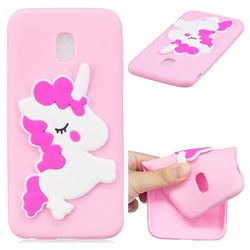 Pony Soft 3D Silicone Case for Samsung Galaxy J7 2017 J730 Eurasian