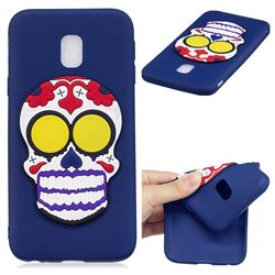 Ghosts Soft 3D Silicone Case for Samsung Galaxy J7 2017 J730 Eurasian