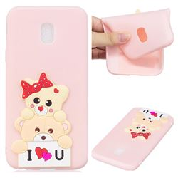 Love Bear Soft 3D Silicone Case for Samsung Galaxy J7 2017 J730 Eurasian