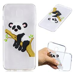 Tree Panda Super Clear Soft TPU Back Cover for Samsung Galaxy J7 2017 J730 Eurasian