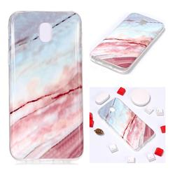 Elegant Soft TPU Marble Pattern Phone Case for Samsung Galaxy J7 2017 J730 Eurasian