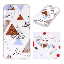 Hill Soft TPU Marble Pattern Phone Case for Samsung Galaxy J7 2017 J730 Eurasian