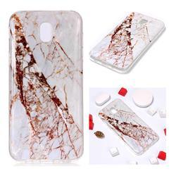 White Crushed Soft TPU Marble Pattern Phone Case for Samsung Galaxy J7 2017 J730 Eurasian