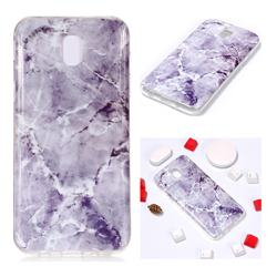 Light Gray Soft TPU Marble Pattern Phone Case for Samsung Galaxy J7 2017 J730 Eurasian