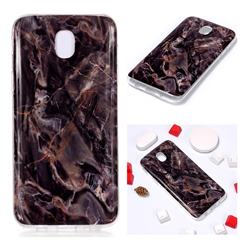 Brown Soft TPU Marble Pattern Phone Case for Samsung Galaxy J7 2017 J730 Eurasian