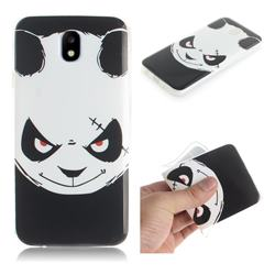 Angry Bear IMD Soft TPU Cell Phone Back Cover for Samsung Galaxy J7 2017 J730 Eurasian