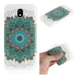 Peacock Mandala IMD Soft TPU Cell Phone Back Cover for Samsung Galaxy J7 2017 J730 Eurasian