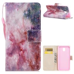 Cosmic Stars PU Leather Wallet Case for Samsung Galaxy J7 2017 J730 Eurasian