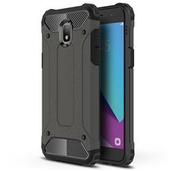 King Kong Armor Premium Shockproof Dual Layer Rugged Hard Cover for Samsung Galaxy J7 (2018) - Bronze