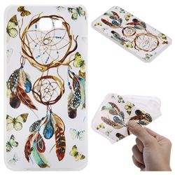 Color Wind Chimes 3D Relief Matte Soft TPU Back Cover for Samsung Galaxy J7 Prime G610