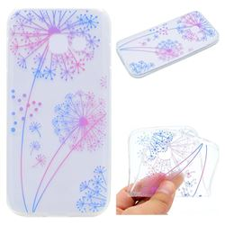 Rainbow Dandelion Super Clear Soft TPU Back Cover for Samsung Galaxy J7 Prime G610
