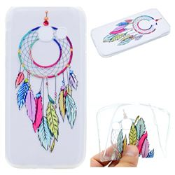 Rainbow Campanula Super Clear Soft TPU Back Cover for Samsung Galaxy J7 Prime G610
