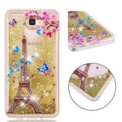 Golden Tower Dynamic Liquid Glitter Quicksand Soft TPU Case for Samsung Galaxy J7 Prime G610