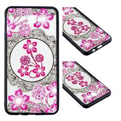 Daffodil Lace Diamond Flower Soft TPU Back Cover for Samsung Galaxy J7 Prime G610