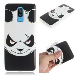 Angry Bear IMD Soft TPU Cell Phone Back Cover for Samsung Galaxy J8