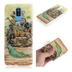 Beast Zoo IMD Soft TPU Cell Phone Back Cover for Samsung Galaxy J8
