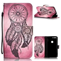 Wind Chimes Leather Wallet Phone Case for Google Pixel