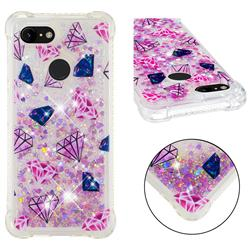 Diamond Dynamic Liquid Glitter Sand Quicksand Star TPU Case for Google Pixel 3