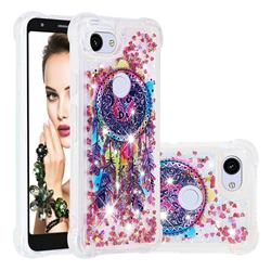 Seal Wind Chimes Dynamic Liquid Glitter Sand Quicksand Star TPU Case for Google Pixel 3A