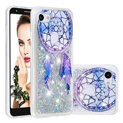 Fantasy Wind Chimes Dynamic Liquid Glitter Quicksand Soft TPU Case for Google Pixel 3A XL