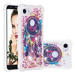 Seal Wind Chimes Dynamic Liquid Glitter Sand Quicksand Star TPU Case for Google Pixel 3A XL