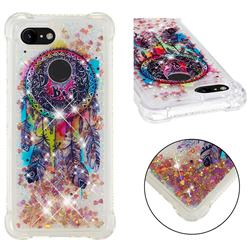 Seal Wind Chimes Dynamic Liquid Glitter Sand Quicksand Star TPU Case for Google Pixel 3 XL