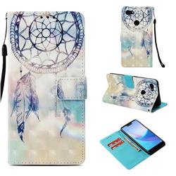 Fantasy Campanula 3D Painted Leather Wallet Case for Google Pixel 3 XL