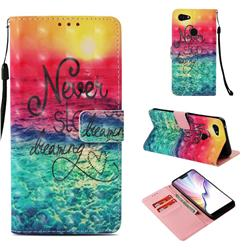 Colorful Dream Catcher 3D Painted Leather Wallet Case for Google Pixel 3 XL