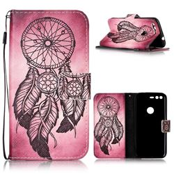 Wind Chimes Leather Wallet Phone Case for Google Pixel XL