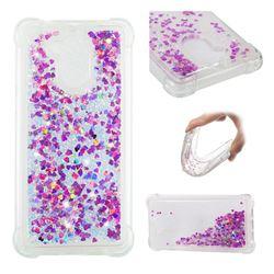Dynamic Liquid Glitter Sand Quicksand Star TPU Case for Huawei Enjoy 6s Honor 6C Nova Smart - Rose
