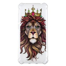 Lion King Anti-fall Clear Varnish Soft TPU Back Cover for Huawei Enjoy 9