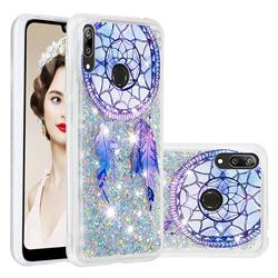 Fantasy Wind Chimes Dynamic Liquid Glitter Quicksand Soft TPU Case for Huawei Enjoy 9