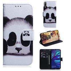 Sleeping Panda PU Leather Wallet Case for Huawei Enjoy 9