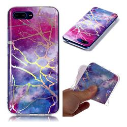 Dream Sky Marble Pattern Bright Color Laser Soft TPU Case for Huawei Honor 10