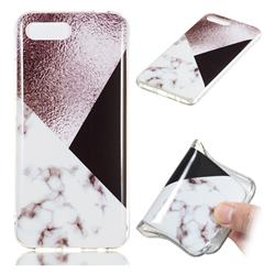 Black white Grey Soft TPU Marble Pattern Phone Case for Huawei Honor 10