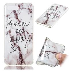 Forever Soft TPU Marble Pattern Phone Case for Huawei Honor 10